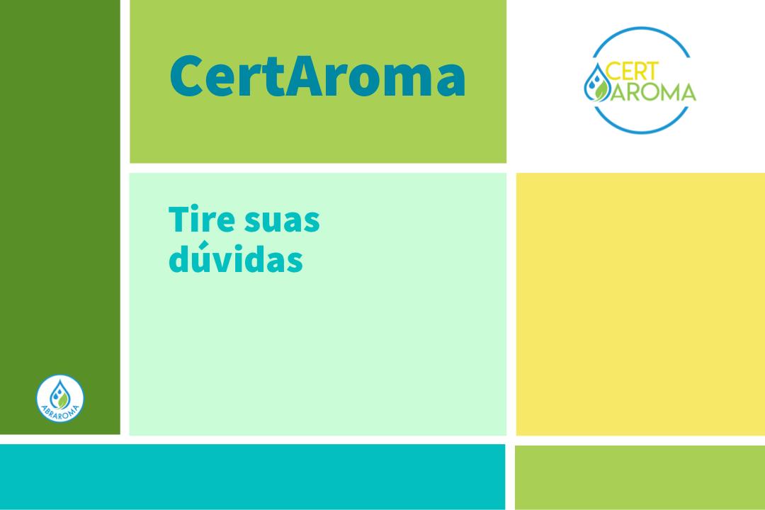 CertAroma, palestra – 19/Jul às 20h30