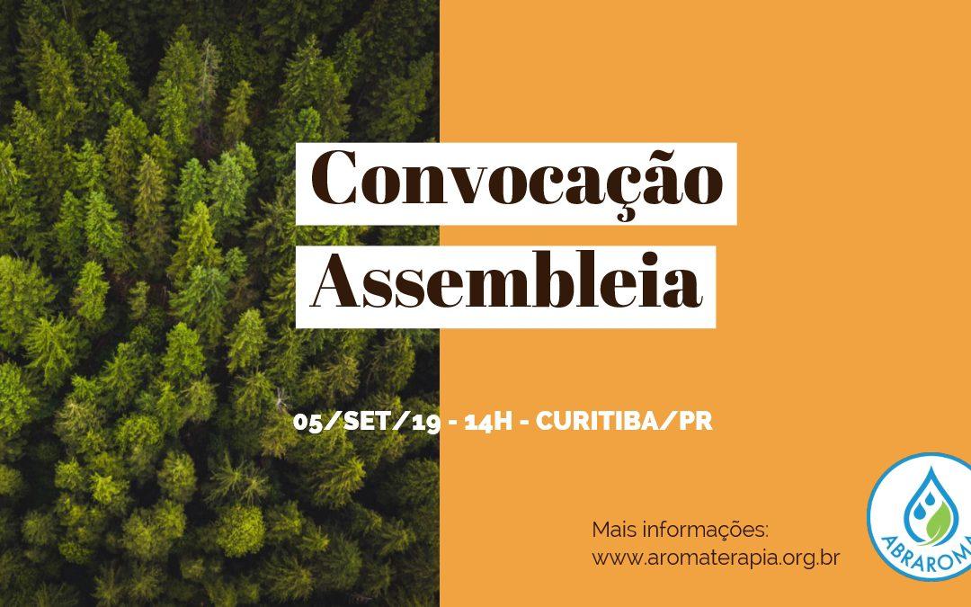 Convocação de Assembleia 05Set19