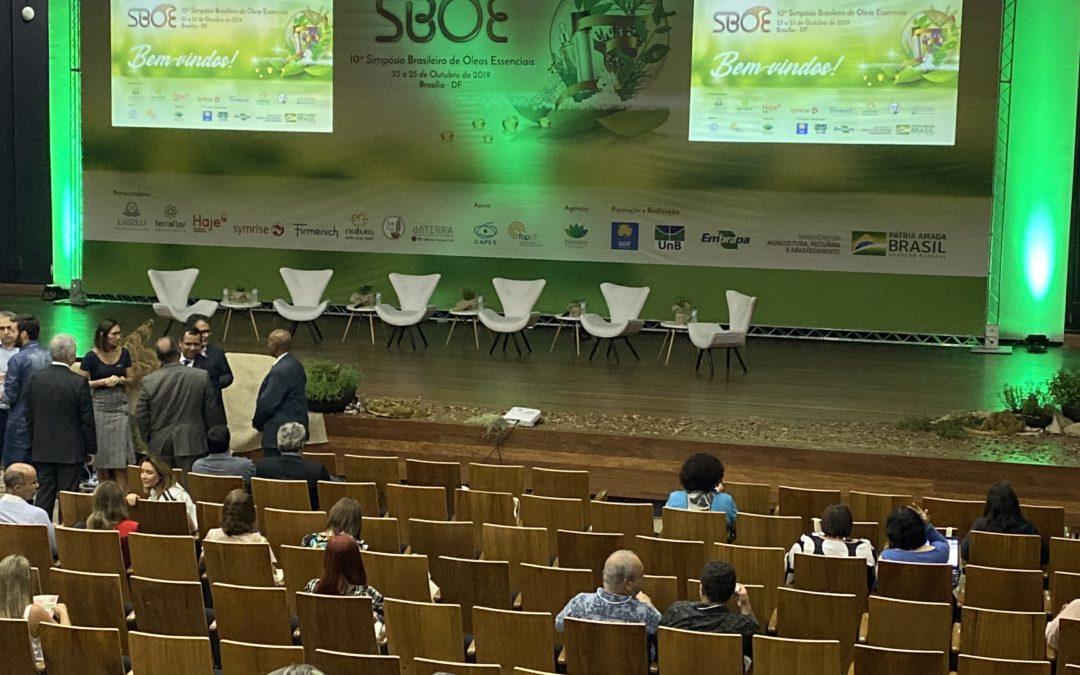 Participação da ABRAROMA no 10º SBOE em Brasília/DF