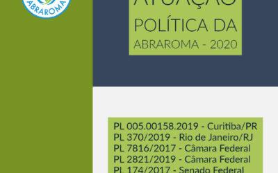 Atuação política em 2020