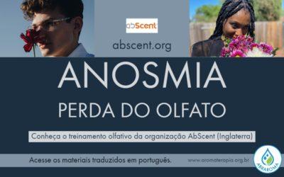 Anosmia – Conheça o treinamento olfativo da organização AbScent.