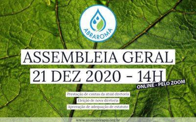 Convocação de Assembleia Geral – 21/Dez/2020