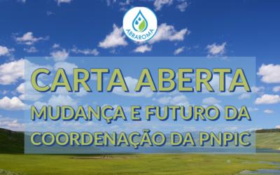 Carta Aberta – Mudança e Futuro da Coordenação da PNPIC